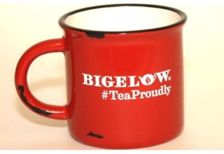 Red  #TeaProudly Mug - 15 oz.