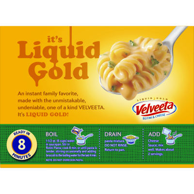 Kraft Velveeta Broccoli Rotini & Cheese 9.4 oz Box