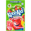 Kool-Aid Unsweetened Strawberry Kiwi Powdered Soft Drink 0.17 oz Envelope