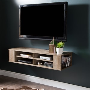 """City Life - 48"""" Wall Mounted Media Console"""