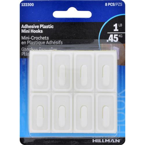 OOK Adhesive Mini Hooks White