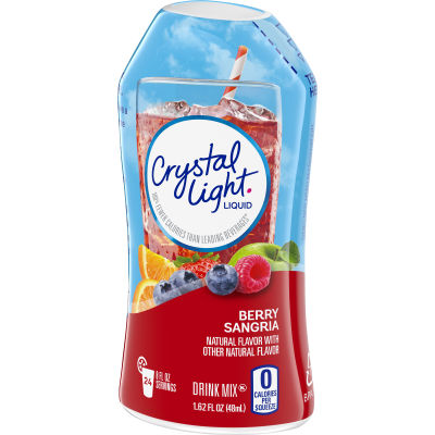 Crystal Light Liquid Berry Sangria Drink Mix, 1.62 oz Bottle