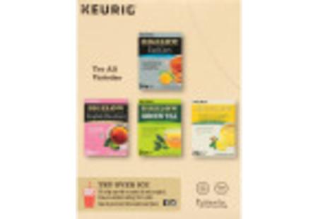 Back of Keurig Bigelow Vanilla Chai Tea K-Cups box of 24 -other varieties