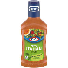 Kraft Zesty Italian Dressing 16 fl oz Bottle