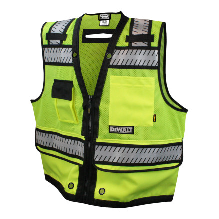 DEWALT DSV521 Class 2 Heavy Duty Surveyor Vest