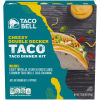 Taco Bell Cheesy Double Decker Taco Dinner Kit 13.86 oz Box