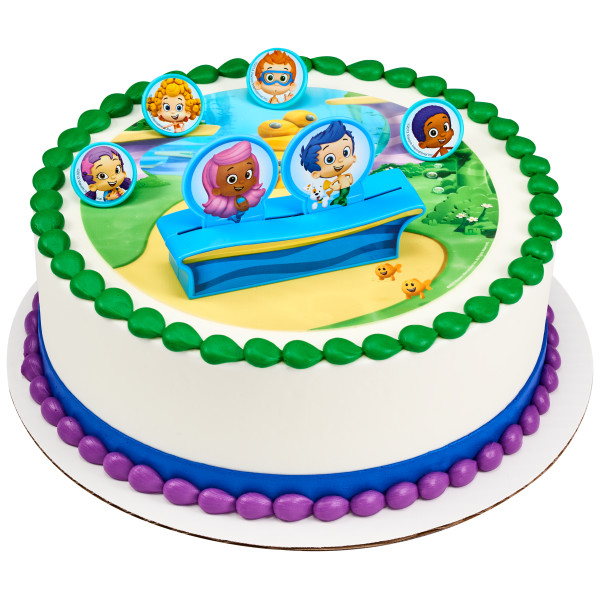 Bubble Guppies™ Gil, Molly & Gang PhotoCake® Edible Image® DecoSet® Background