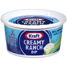 Kraft Creamy Ranch Dip 12 oz Tub