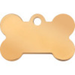 Gold Small Bone Quick-Tag