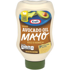 Kraft Avocado Oil Mayonnaise 22 fl oz Squeezable Bottle