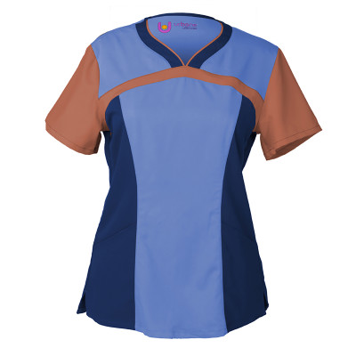 DEAL - Ultimate Colorblock Sweetheart Top-Urbane