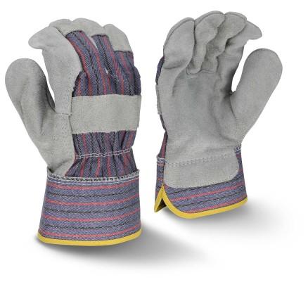 Radians RWG3200 Regular Shoulder Gray Split Cowhide Leather Glove
