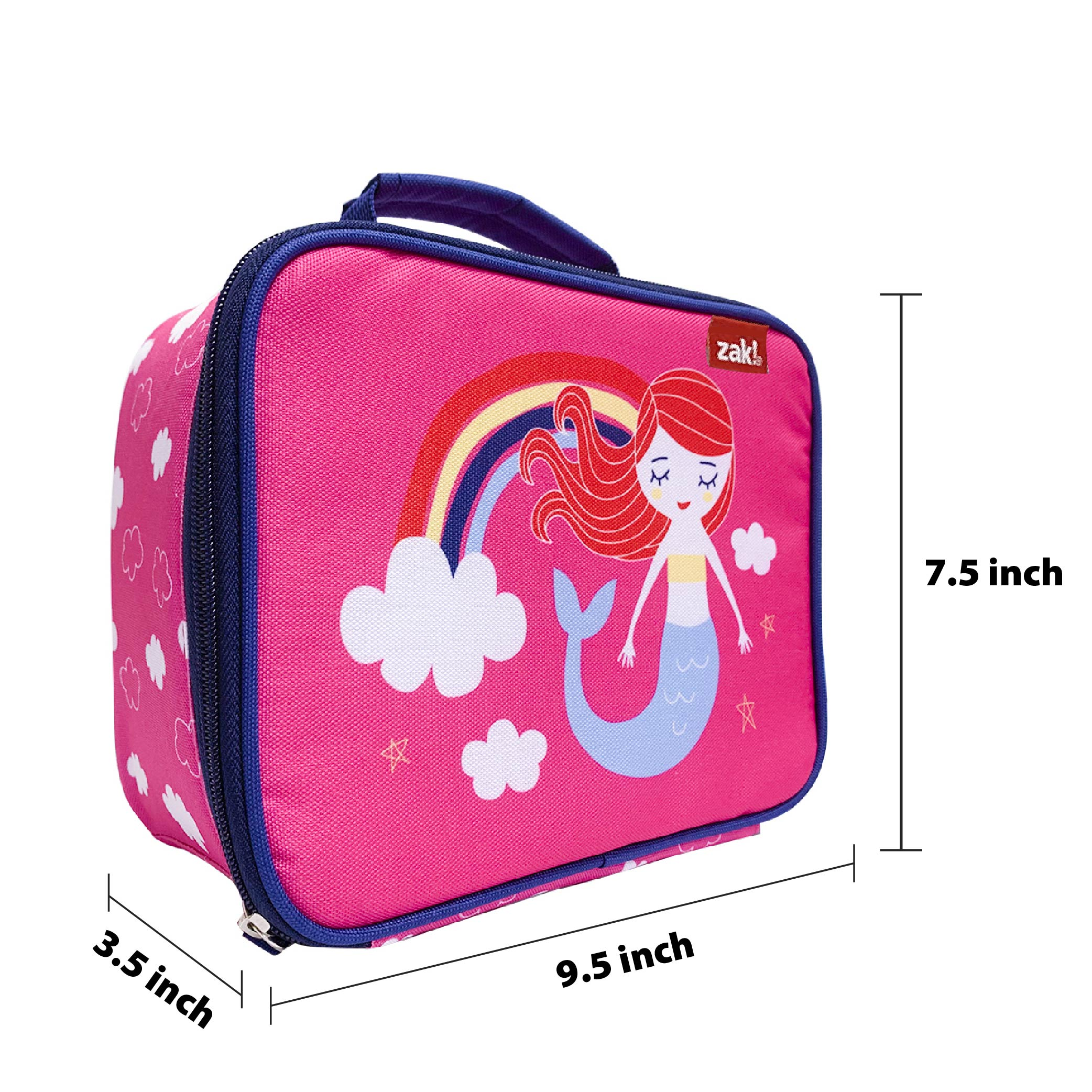 Happy Things Insulated Reusable Lunch Bag, Mermaids slideshow image 6