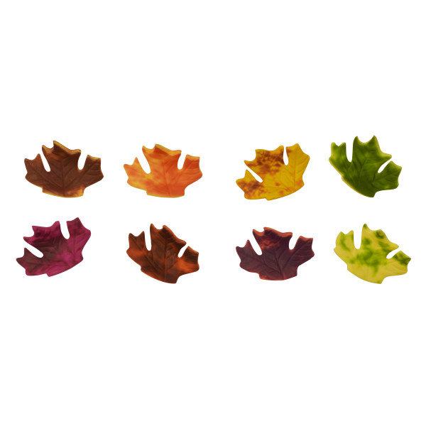 Fall Leaves Assortment Gum Paste Layon