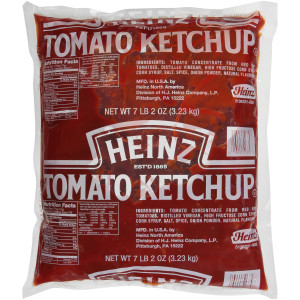 HEINZ Ketchup, 114 oz. Pouch Paks (Pack of 4) image