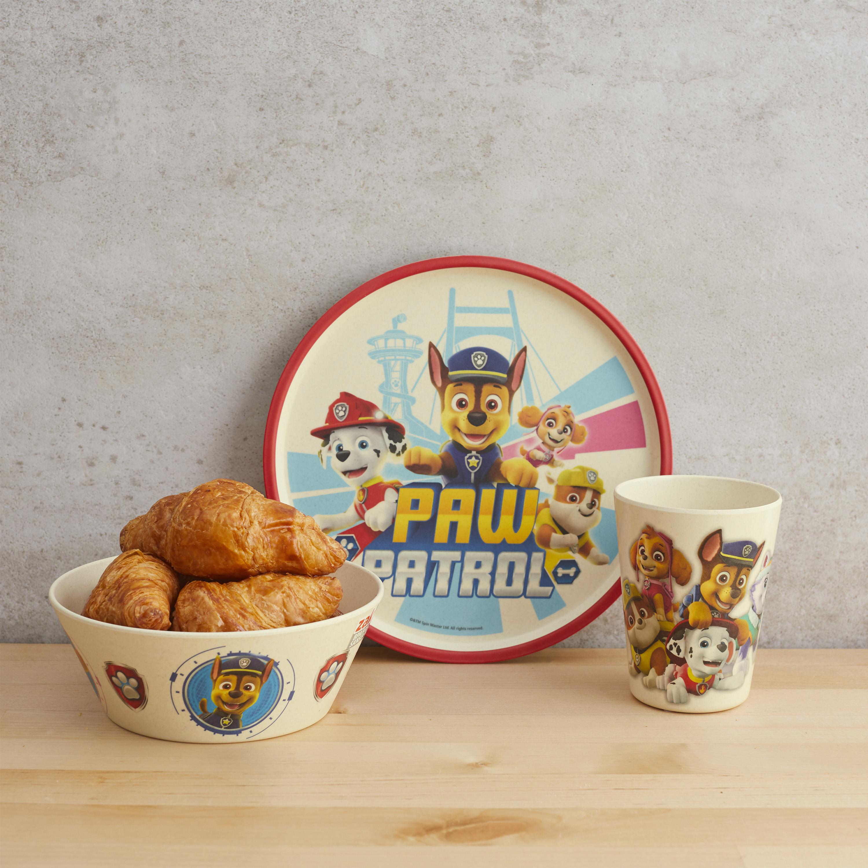 Paw Patrol Kids 3-piece Dinnerware Set, Chase, Marshall & Friends, 3-piece set slideshow image 9