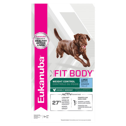 Eukanuba Fit Body Fit Body Weight Control Large Breed Dry Dog Food