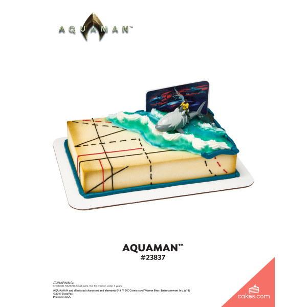 Aquaman™ DecoSet® The Magic of Cakes® Page