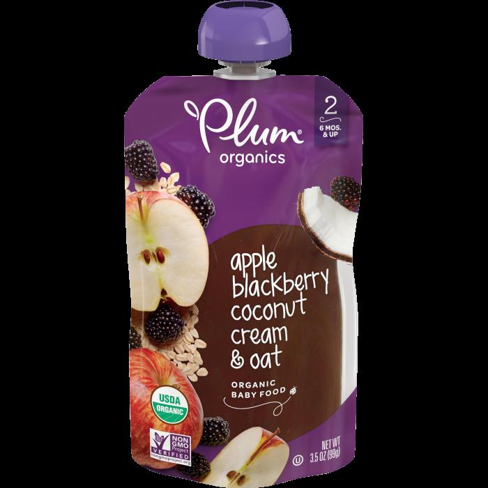 Apple, Blackberry & Coconut Cream Baby Food
