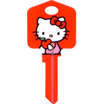 Hello Kitty Red Key Blank