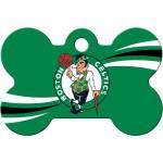 Boston Celtics Chrome Large Bone Quick-Tag