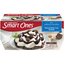 Smart Ones Peanut Butter Sundae Frozen Dessert 4 - 2.04 oz Cups