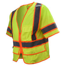 Radians SV2725 Type R Class 3 Self Extinguishing Multipurpose Surveyor Vest