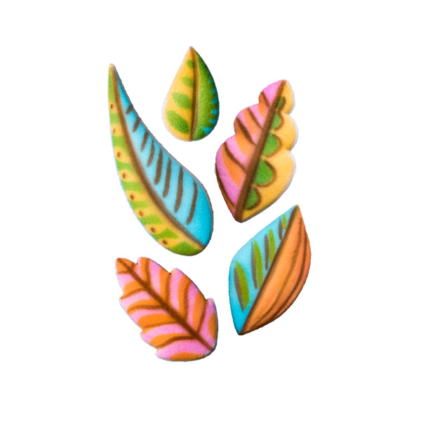 Colorful Leaves Assortment Dec-Ons® Decorations