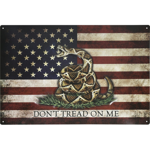 Don't Tread on Me Novelty Sign (12