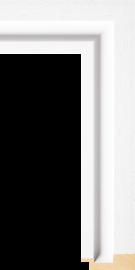Shutter White w/Grain 2' 3/8