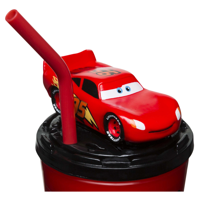 Disney and Pixar Cars 3 Movie 15 ounce Kid's Tumbler, Lightning McQueen slideshow image 5