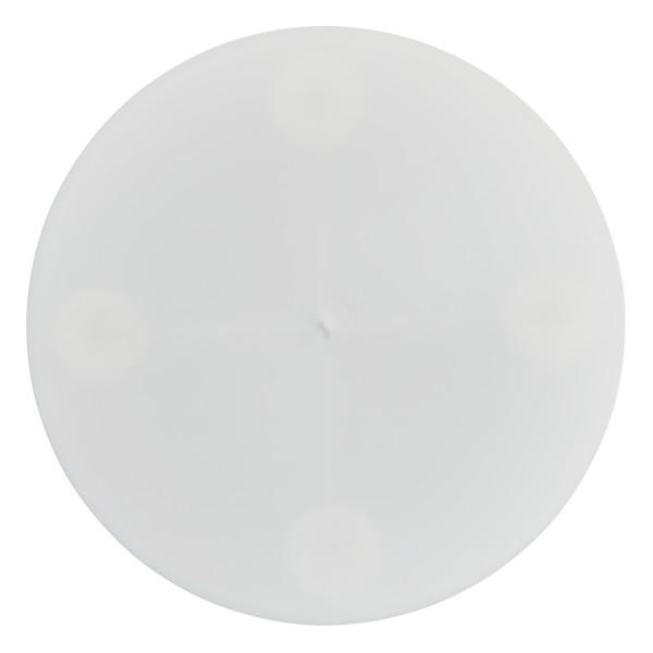 "10"" Round White Separator Plate"