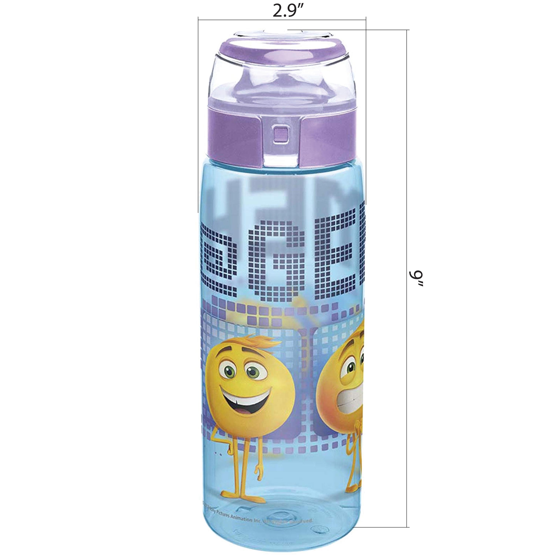 Emoji Movie 25 ounce Water Bottle, Emoticons slideshow image 2