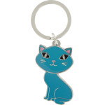 Blue Cat - Key Chain