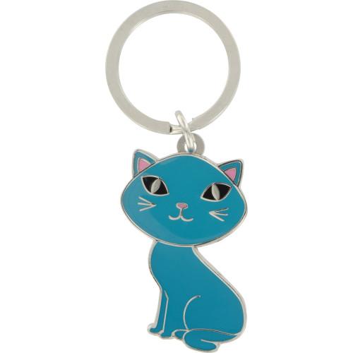 Blue Cat - Key Chain