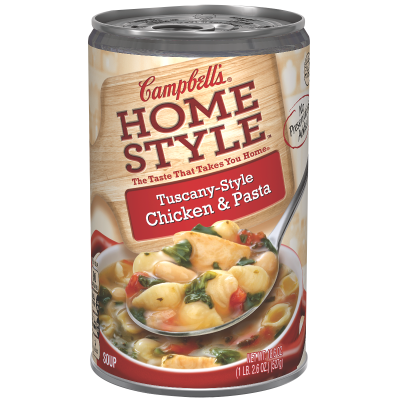 Tuscany-Style Chicken & Pasta Soup