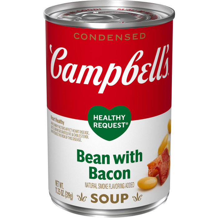 Healthy Request®Bean with Bacon Soup