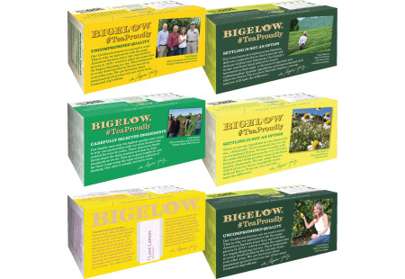 Top of boxses of Mixed Case of Cold & Flu Teas - 6 boxes