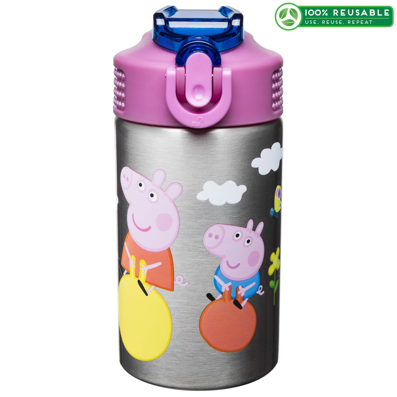 Nick Jr. 15.5 ounce Water Bottle, Peppa Pig slideshow image 1