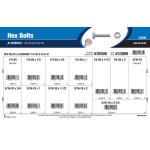 """Aluminum Hex Bolts Assortment (1/4""""-20 & 5/16""""-18)"""