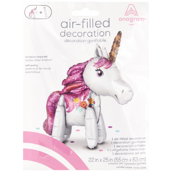 Inflatable Magical Unicorn Merchandising Kit