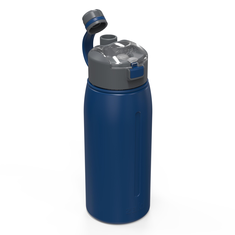 Genesis 24 ounce Vacuum Insulated Stainless Steel Tumbler, Indigo slideshow image 4