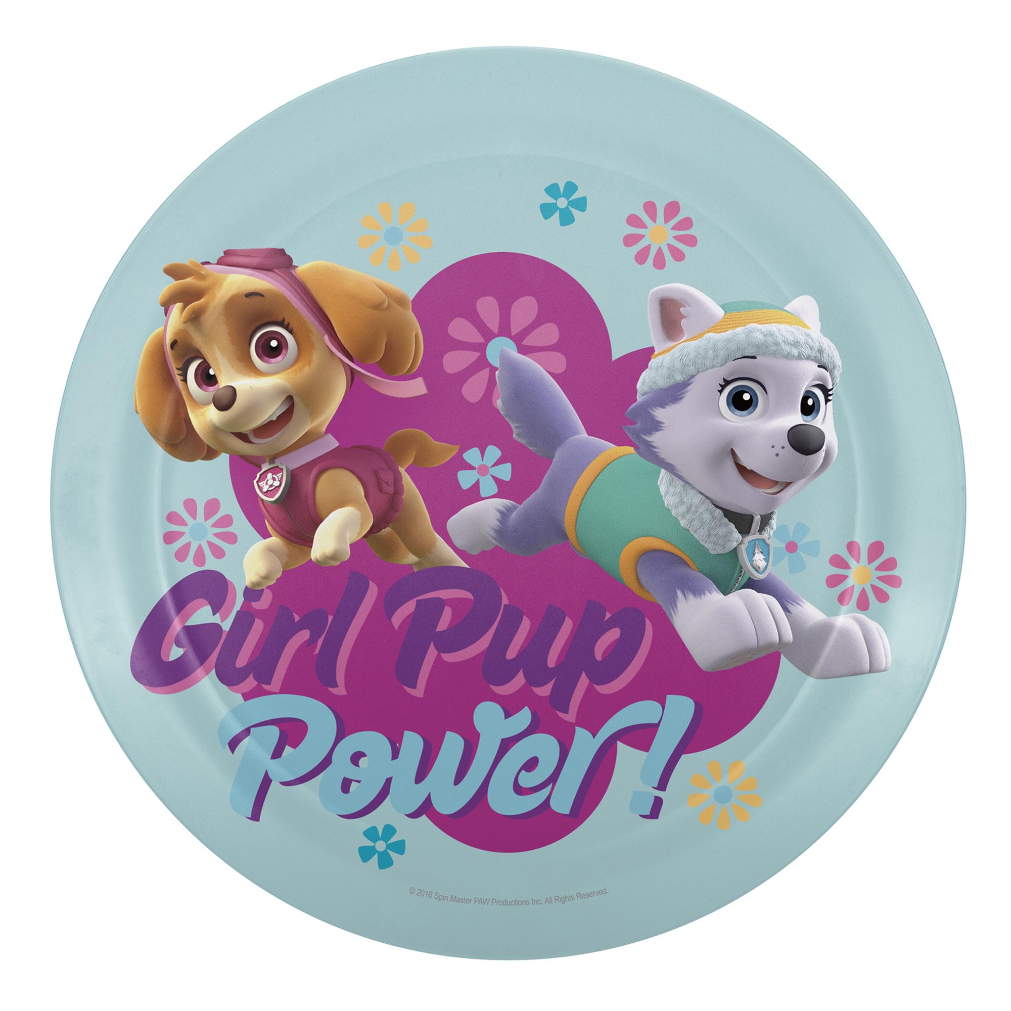 Paw Patrol Kids Dinnerware Set, Skye & Everest, 3-piece set slideshow image 4