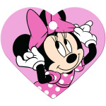 Minnie Mouse Pink Heart Quick-Tag