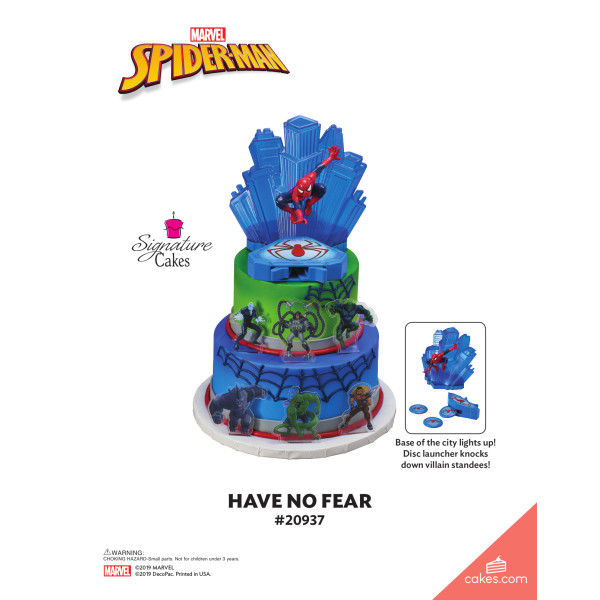 MARVEL Spider-Man™ Have No Fear Signature DecoSet® The Magic of Cakes® Page