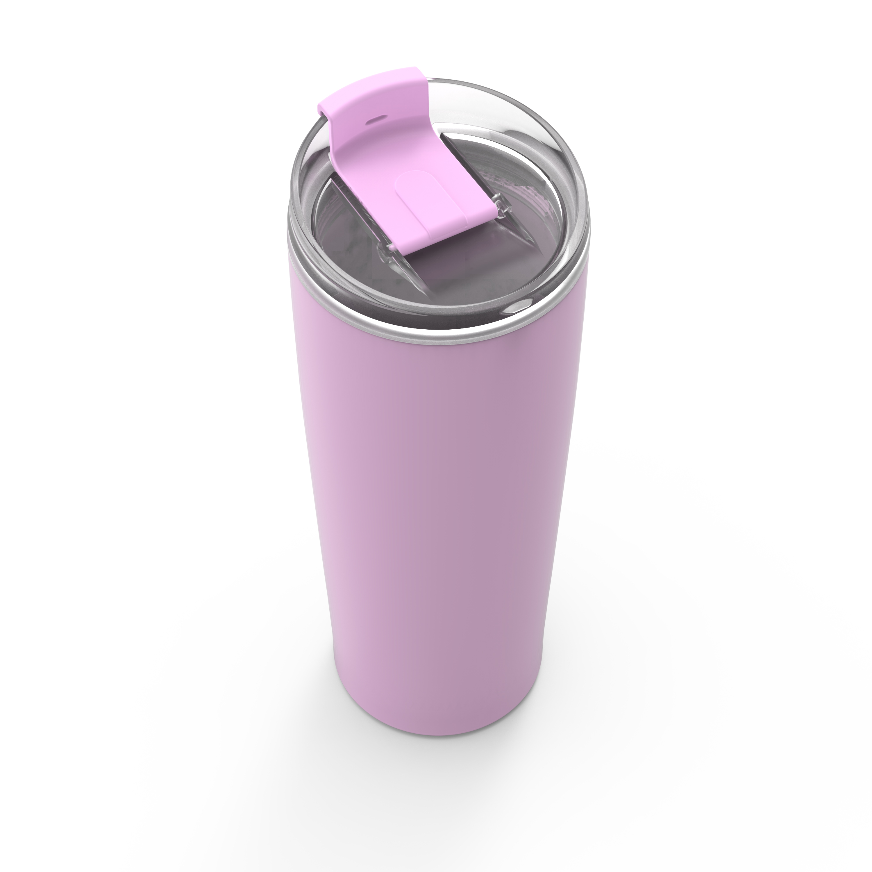Aberdeen 24 ounce Vacuum Insulated Stainless Steel Tumbler, Lilac slideshow image 3