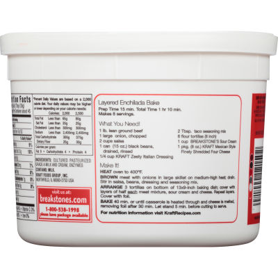 Breakstone's All Natural Sour Cream 48 oz Tub