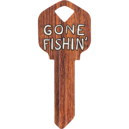 WacKey Gone Fishing Key Blank Kwikset/66 KW1