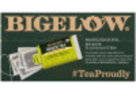 Top of Orgranic Green Tea box of 40 tea bags