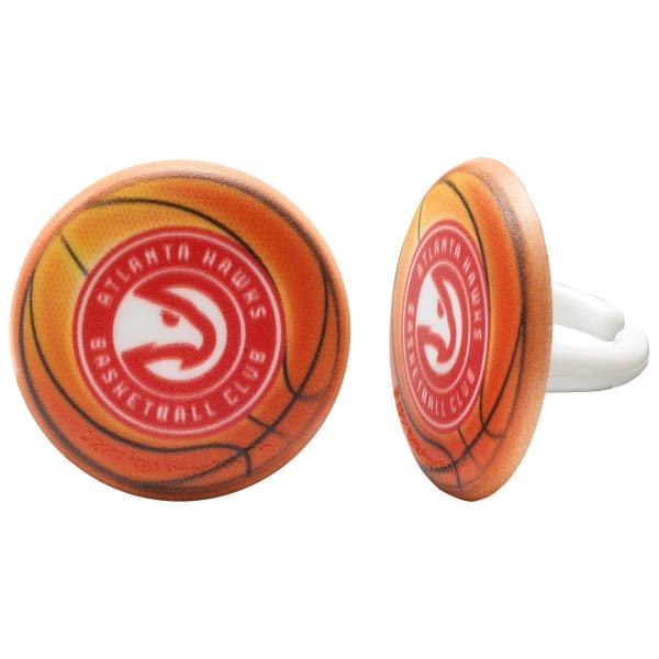 NBA Atlanta Hawks Cupcake Rings